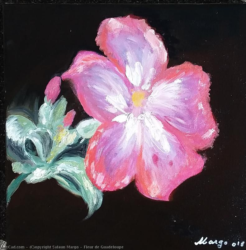 Artwork >> Salaun Margo >> Flower of Guadeloupe