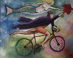André Rippert - cyclist up and  mermaid