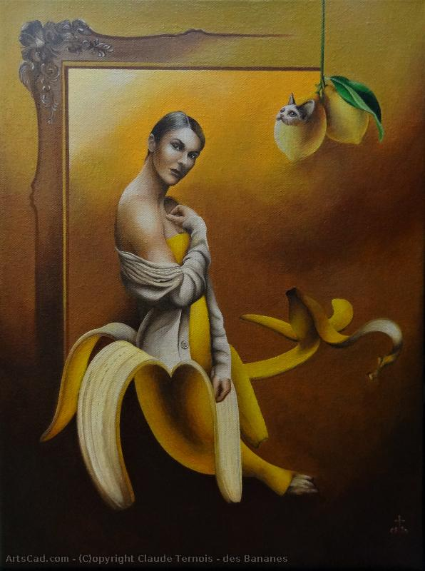Art by Claude Ternois : Claude Ternois - of bananas