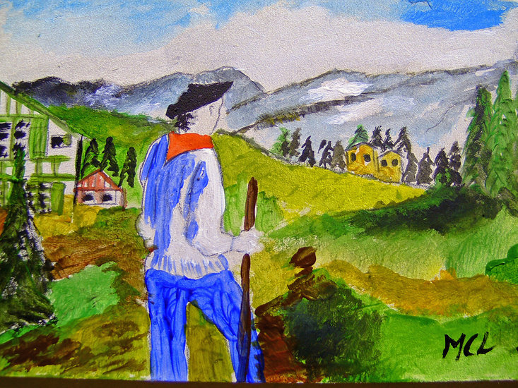Artwork >> Marie Christine Legeay >> BASQUE COUNTRY