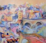 Di Bliqui Roger - Town up in  Provence