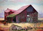 Immanuel Joseph - Barn on Wieble Avenue