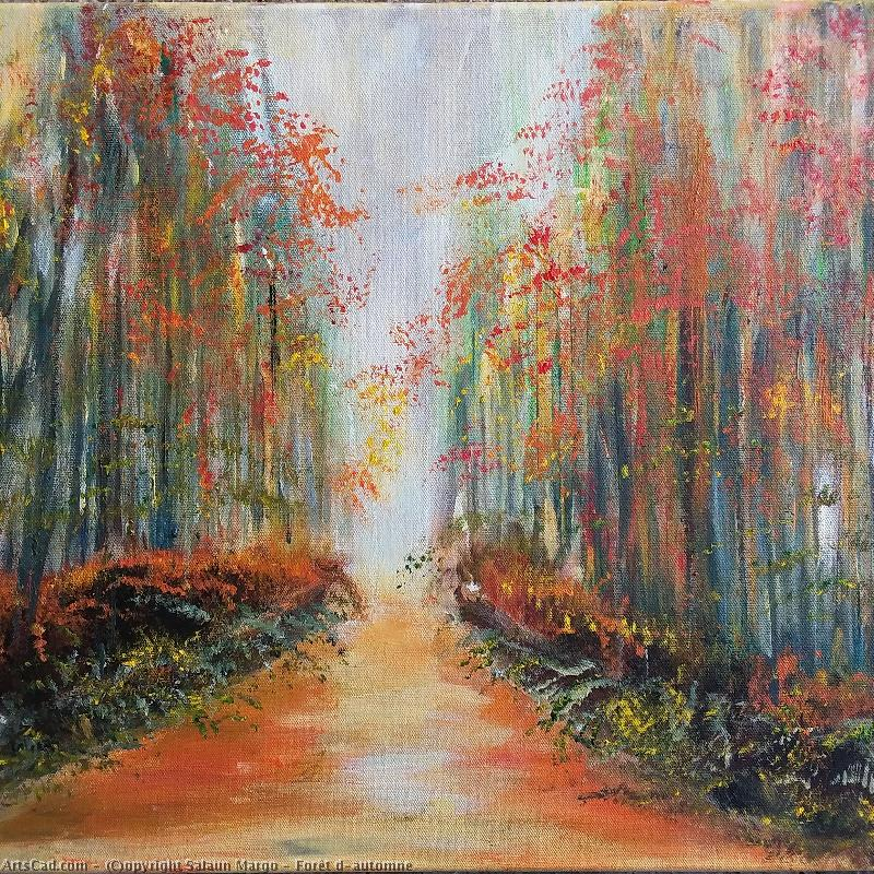Artwork >> Salaun Margo >> Forest d'automne