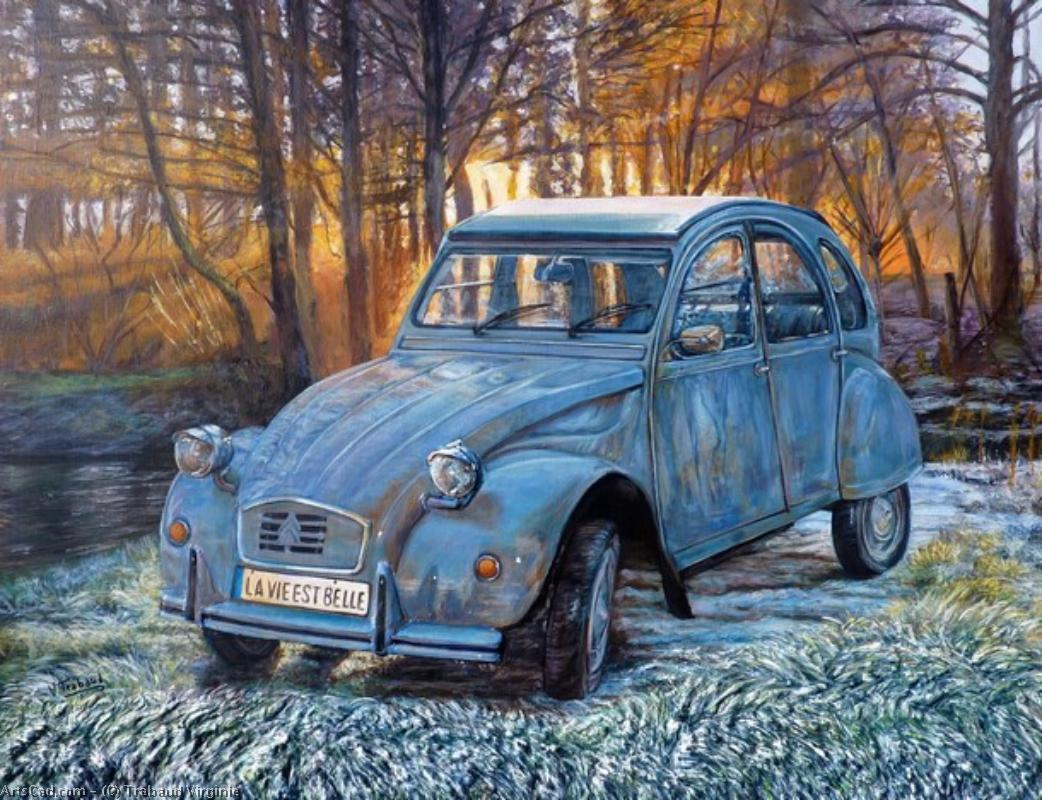 Artwork >> Trabaud Virginie >> 2cv  jelly  of the  morning