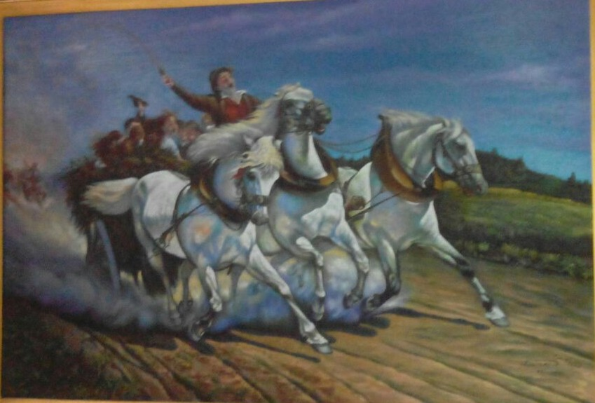 Art by Naser Gallery : Naser Gallery - The carriage and horses