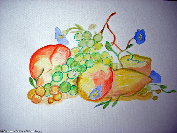 Artwork >> Marie Christine Legeay >> fruit