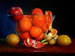 Lorenzo Antognetti - composition with Oranges