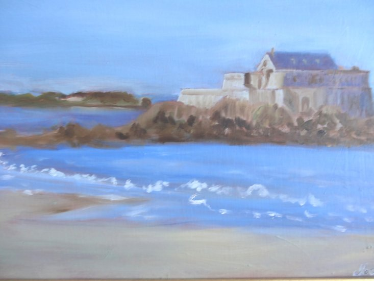 Artwork >> Salaun Margo >> ThE NATIONAL FORT SAINT MALO
