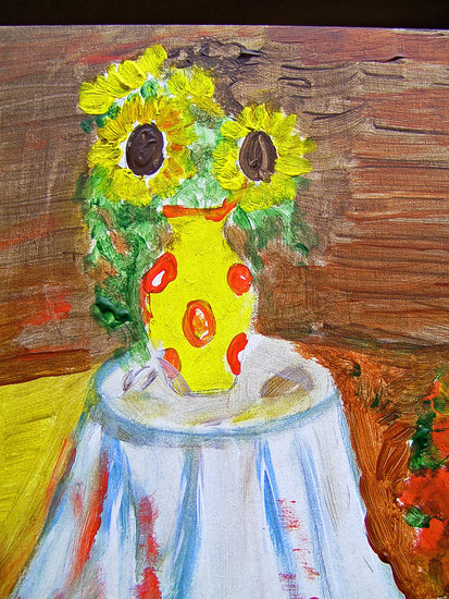 Artwork >> Marie Christine Legeay >> SUNFLOWERS