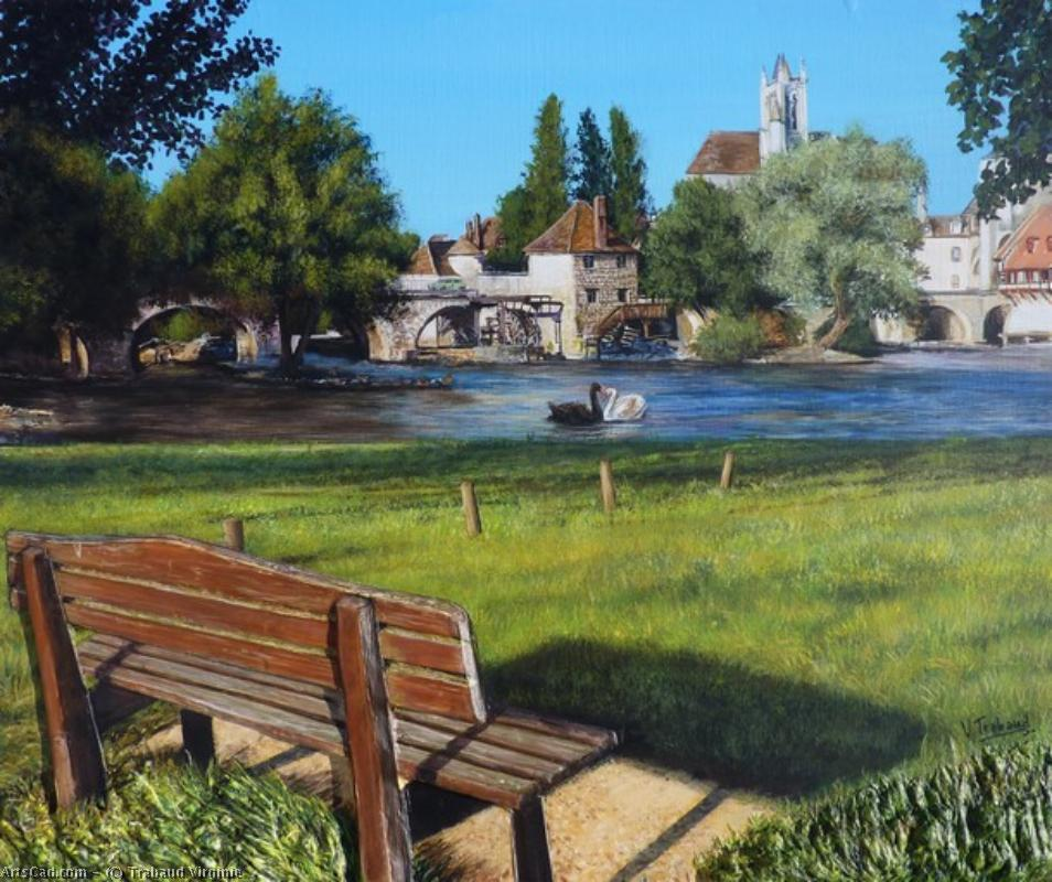 Artwork >> Trabaud Virginie >> moret on loing