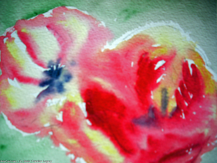 Artwork >> Marie Christine Legeay >> RED TULIPS