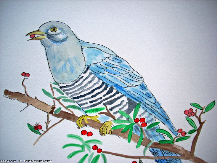Artwork >> Marie Christine Legeay >> THE CUCKOO / Tea cuckoo