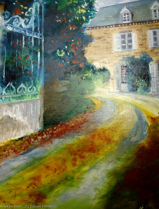 Artwork >> Salaun Margo >> Old house at plouer sur rance