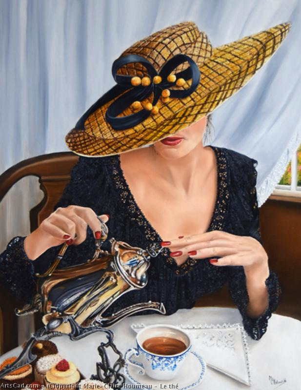 Art by Marie-Claire Houmeau : Marie-Claire Houmeau - The Tea