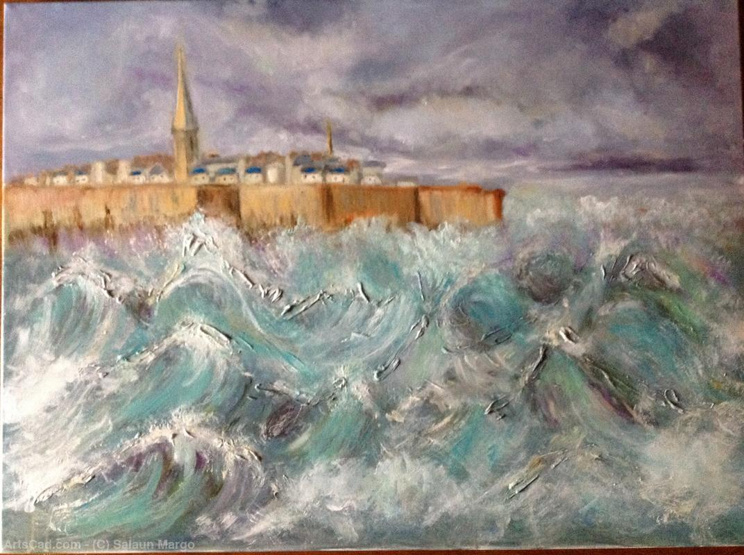 Artwork >> Salaun Margo >> Saint Malo in tempAAte