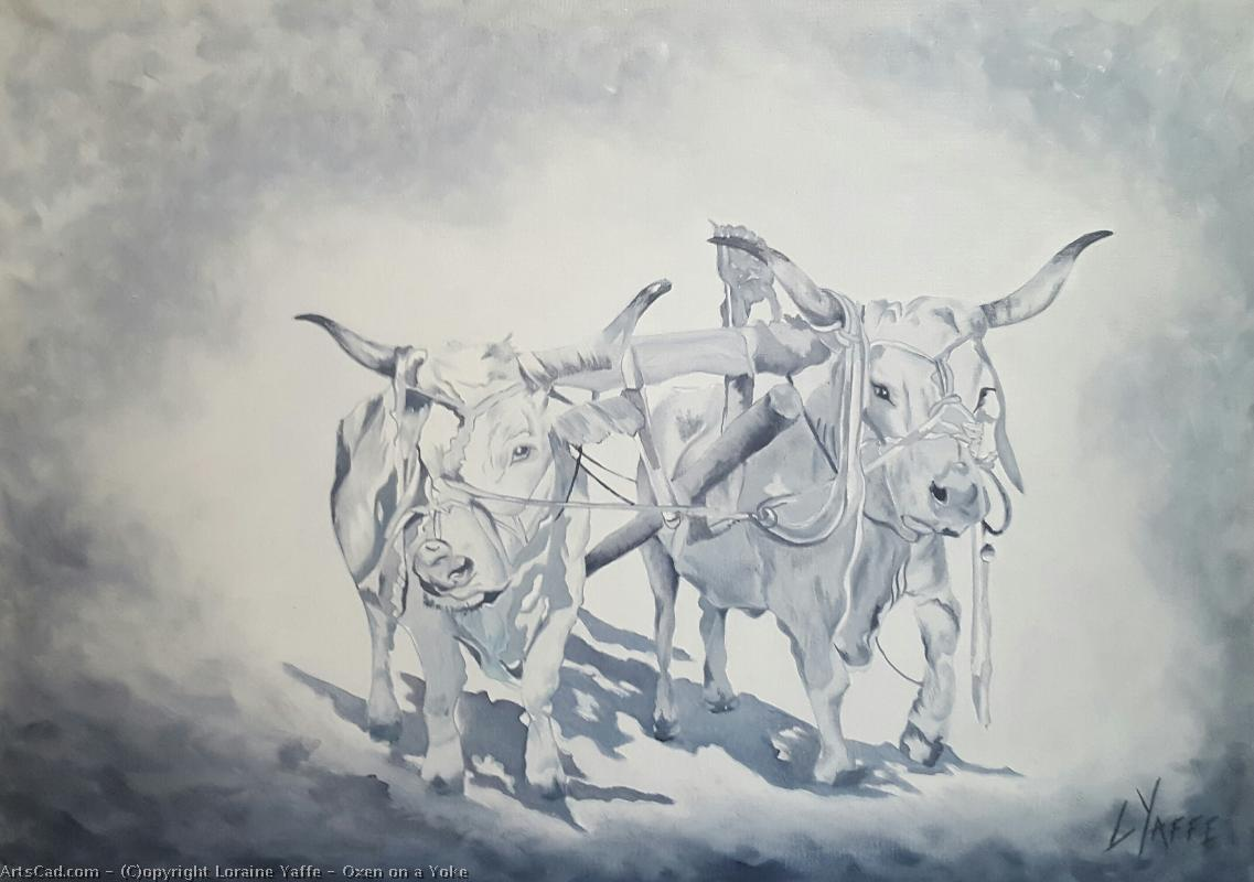 Loraine Yaffe - Oxen on a Yoke